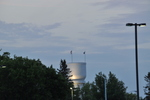 Brainerd historic water tower night